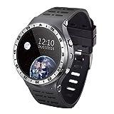 Lemumu LEMFO S99 ein Smar twatch für Android 5.1 MTK 6580 M 1,3G Quad Core 512 MB 8 GB mit GPS WLAN SIM 3G Smart watch Phone für Android IOS, Schwarz