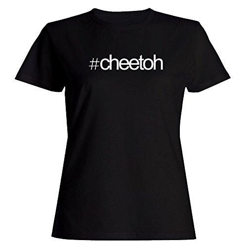 Idakoos Hashtag Cheetoh - Katzen - Damen T-Shirt (Cheetoh Katzen)