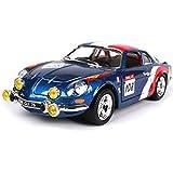 Maisto Renault A110 1600S Alliage modèle de Voiture en métal Enfants Pull Back Collection Toy Boy Véhicule Modèle Simulation ( Color : Blue )