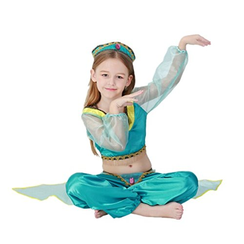 Imagen de disfraz de princesa arabe para ninas cosplay halloween carnaval disfraz de bailarina talla m alternativa