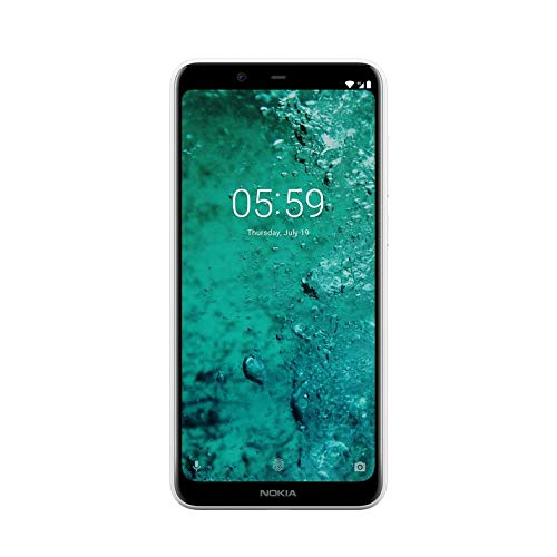 "Nokia 5.1 Plus – Smartphone da 5.86 "" (4G, Mediatech Elio P60, RAM da 3 GB, memoria da 32 GB, Dual camera di 13 + 5 MP, Android 8.1) Colore Bianco"