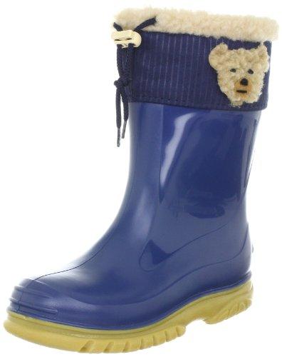 Romika Teddy, Unisex-Kinder Kurzschaft Gummistiefel, Blau (blau-honig 573), 22 EU