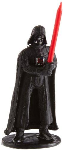 Dekoback Star Wars Kuchenkerzenhalter Kerze Darth Vader, Mehrfarbig, 2