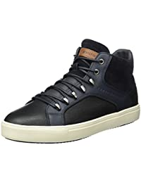 Tommy Hilfiger M2285OON 1C2, Baskets Homme, Bleu (Midnight), 43 EU