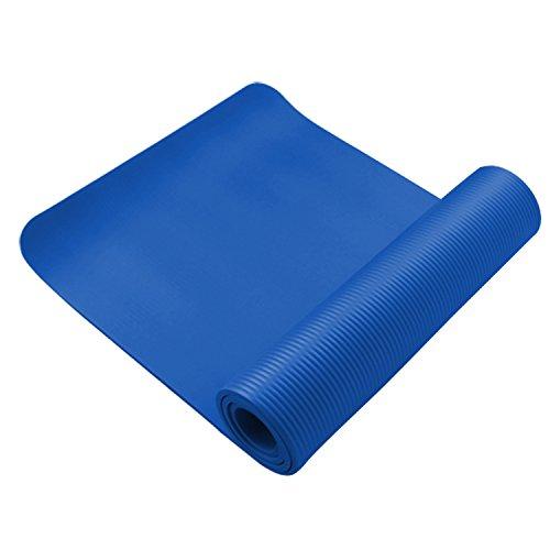Matelas de fitness Antidérapant épais et souple, idéal pour le pilates, la gymnastique et le yoga de 100mm
