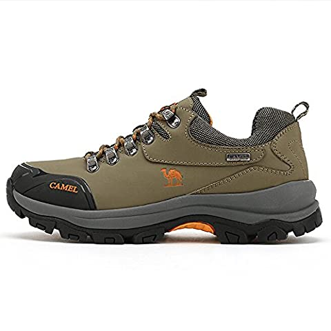 Camel Men's Outdoor Professional Hiking Shoes Color Khaki Size 44