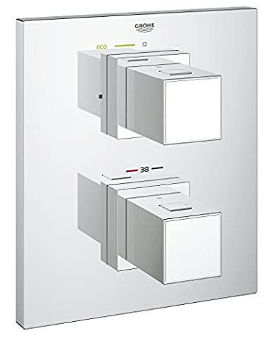 GROHE Mitigeur Thermostatique Douche Grohtherm Cube 19959000 (Import Allemagne)