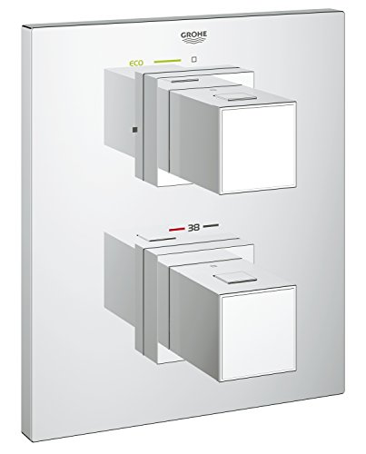 Grohe Grohtherm Cube Thermostat-Duscharmatur Besatz für Rapido t-concealed Thermostat