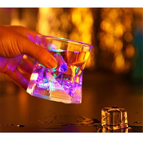 Bierbecher, LED-Induktions-Blitzlicht-Wassertasse, Getränkebecher, Bierkrug,A ()