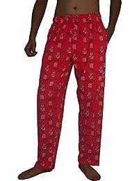 NCAA Mens North Carolina State Wolfpack Sleepwear / Pajama Pants
