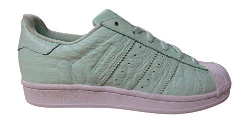 adidas Damen Superstar Sneaker, Schwarz, For Women green white AQ2711
