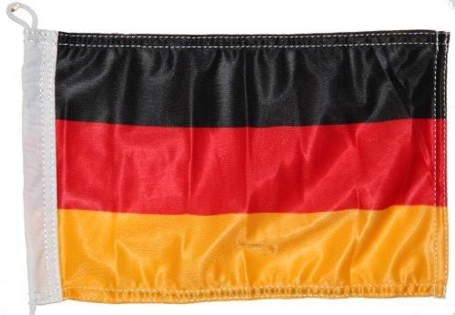 Bootsflagge Fahne Deutschland 20 x 30 cm