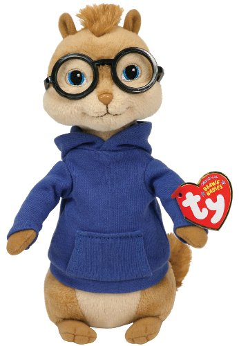Alvin And The Chipmunks - Simon - Ty UK Beanie Baby