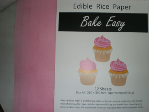 12-sheets-of-bakeeasy-pink-edible-wafer-rice-paper