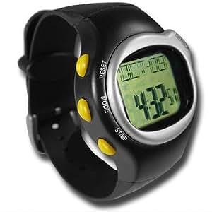 (25-023) *** NOUVEAU Montre Sport *** Fréquence du pouls / Lecteur de calories / Date / Chronomètre / Réveil. Noir - NEUF