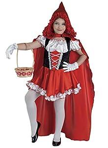 Clown Republic - Disfraz de sombrero rojo para niña, 82708/08, multicolor