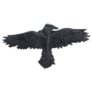 Alchemy Gothic Schwarzer Rabe Haarspange