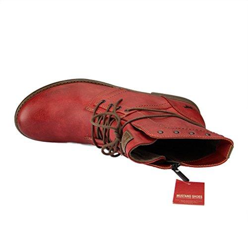 Mustang 1134-602, Bottes Classiques femme Rouge