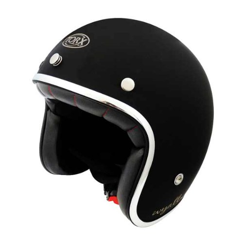 Casco Moto Wyatt Shiny Black: S