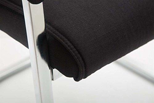 Sedie Ufficio Xxl : Clp sedia cantilever xxl con braccioli anubis sedia visitatore