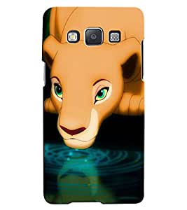 Citydreamz Lion\Wild\Animal\Jungle Hard Polycarbonate Designer Back Case Cover For Samsung Galaxy J7-6 (New 2016 Edition)