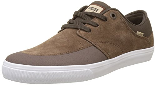 Globe Herren Chase Skateboardschuhe Mehrfarbig (Brown/white)