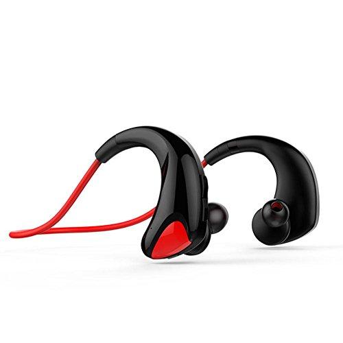 Z&YQWireless Bluetooth Kopfhörer Binaural Neckband Automatische Speicherlinie Sport Kopfhörer Sweatproof , red