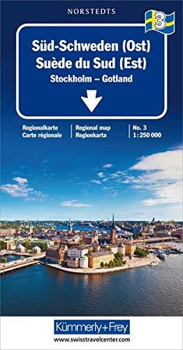 Kümmerly & Frey Karten, Süd-Schweden (Ost) (Kümmerly+Frey Reisekarten) (Landkarte Schweden)