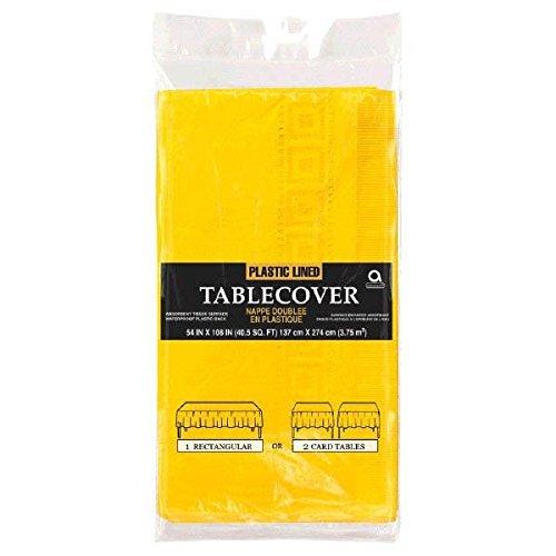 Papiertischdecke Sunshine gelb ()