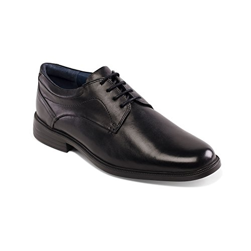 Padders Bank, Chaussures à Lacets Homme Noir