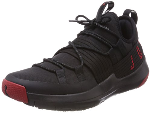 Nike Herren Jordan Trainer Pro Basketballschuhe, Schwarz (Black Gym Red Gym Red 001), 43 EU (Gym Jordan)