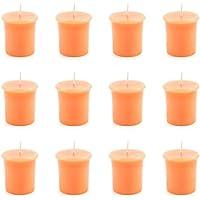 pajoma Votivkerze Mango-Orange, durchgefärbte Duftkerze, 12er Pack preisvergleich bei billige-tabletten.eu