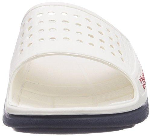hummel HUMMEL SPORT Unisex-Erwachsene Dusch- & Badeschuhe Weiß (White 9001)