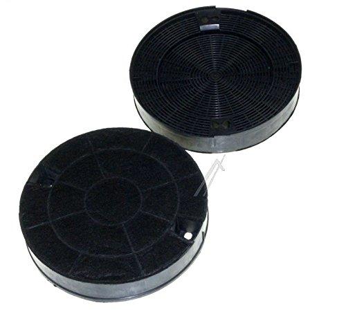 Filtres charbon rond type amc912 481249038013 (lot de 2) hotte whirlpool akr689nb