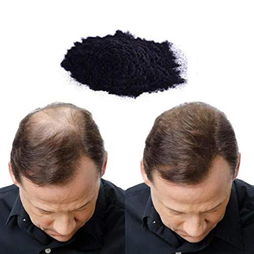 DIKEWANG Haaraufbau-Fasern Beste Keratin-Haarfasern sofort Natürlicher Haarausfall Concealer Keratin Haarverdichtung Haarfasern, 25 g, 10 Farben