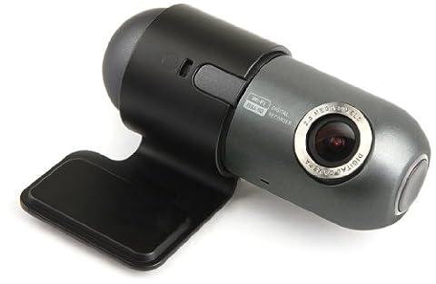 Caméra embarquée/DVR/Dashcam pour voiture 16Go Argent