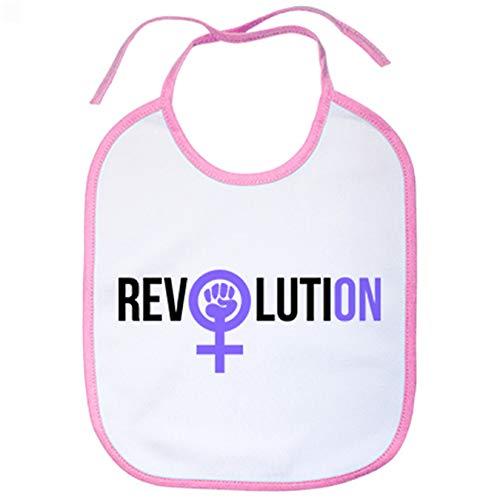 Babero revolución feminista Revolution - Rosa