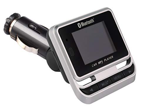 Bluetooth FM Transmitter/kabelloses Auto-Ladegerät/TF-Karte/Bluetooth-Freisprecheinrichtung/Ein-Tasten-Bedienung/Großbild-Display/Musikwiedergabe/U-Disk-Wiedergabe/Mit Fernbedienung Ir-modulator