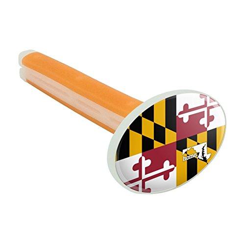 Maryland MD Home State Flagge Offizielles Lizenzprodukt Auto-Lufterfrischer Vent Clip–Citrus Blossom Duft (Clip Maryland)