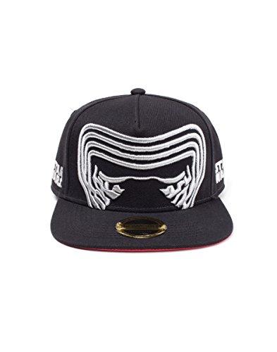 Bioworld-Star Wars-The Last Jedi-Kylo Ren Inspired Mask Snapback Black (Cap)