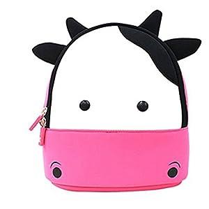 yisibo impermeable niños mochila 3d Cute Zoo Cartoon Pre escuela niños TODDLER sidesick bolsas