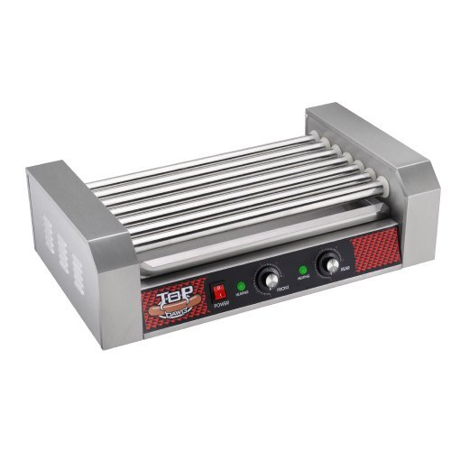 Great Northern Commercial 18 Hot Dog 7 Roller Grilling Machine by Great Northern Popcorn Company