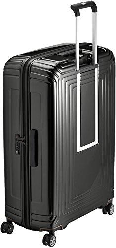 Samsonite Neopulse Suitcase 4 Wheel Spinner 81cm Metallic Black