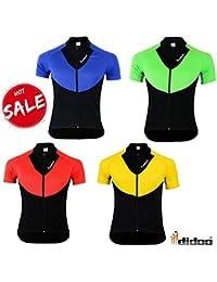Didoo De Los Nuevos Hombres Ciclismo Manga Corta Camisetas Equipo Bike Jersey Carreras Ropa Camisetas -