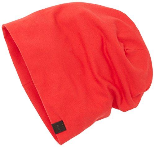MSTRDS Unisex Erwachsene Strickmütze Jersey Beanie, Rot (Red 1152,5028), One Size (Youth) Preisvergleich