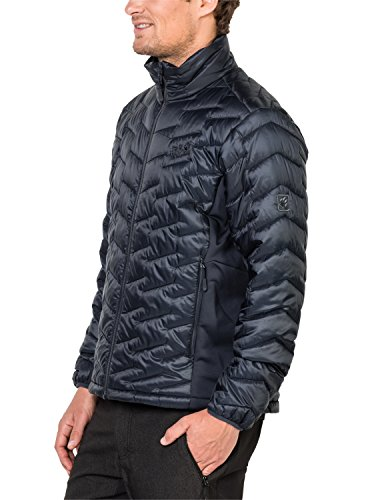 Jack Wolfskin Herren Icy Water Jacke Wattiert, Schwarz, S night blue