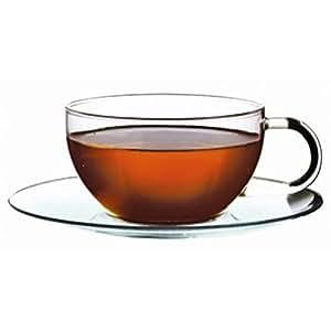 Jumbo Teetassen aus Borosilikatglas, 2er Set (je 0,33 l)