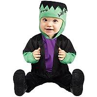 bebé niño monstruo de Frankenstein Disfraz de Halloween 1-2 AÑOS 12-24 meses