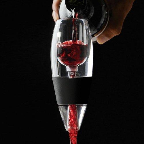 E-senior magic decanter -decanter per vino rosso con supporto