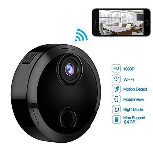 TONGTONG Hidden Kamera drahtlose 1080P HD-Sicherheitskamera, Indoor-Familie kleine Cam-Ty-Cam-eingebaute Batterie mit Bewegungserkennung/Nachtsicht iPhone/Android-Telefon/iPad/PC